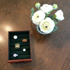 Set of 5 Fashion Rings